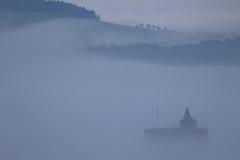 Polignac in de mist